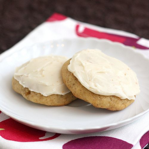 brown butter banana bread cookies from Tracey's Culinary Adventures