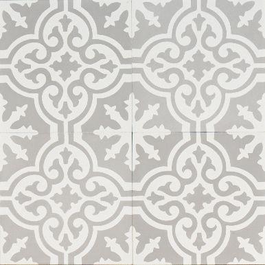 i like these for bathroom - grey moroccan bazaar. encaustic tiles.