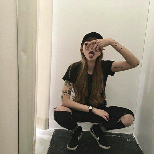 ulzzang girl boy korean selfie kawaii fashion