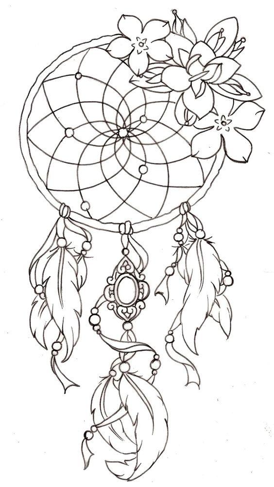 cool Dreamcatcher Tattoos Design Images: