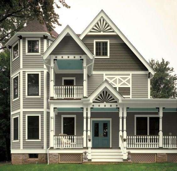 Fabulous Victorian House Paint Schemes White Gray Essential Baby What Inspirational Interior Design Netriciaus