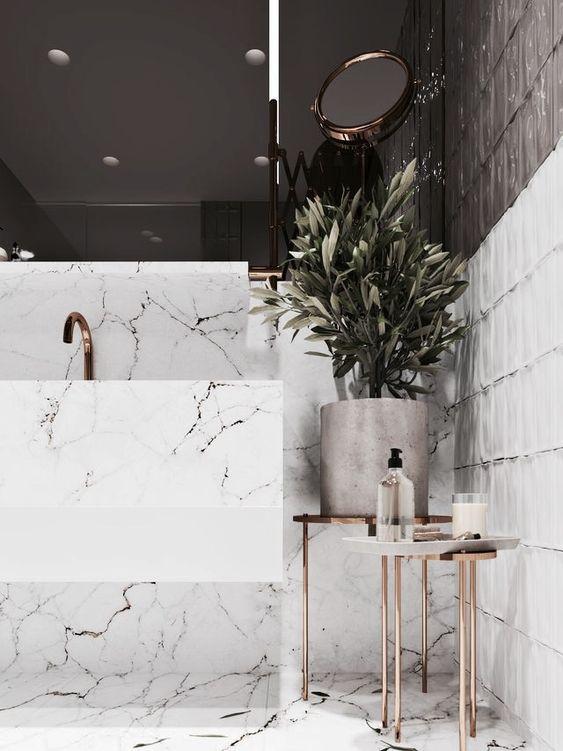 Modest Modern Bathrooms