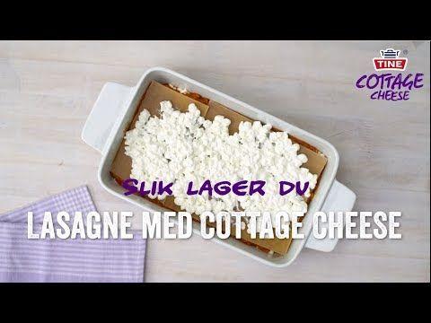 Fullkornslasagne Med Cottage Cheese Matsans Tine No Enkle Oppskrifter Cottage Cheese Lasagne