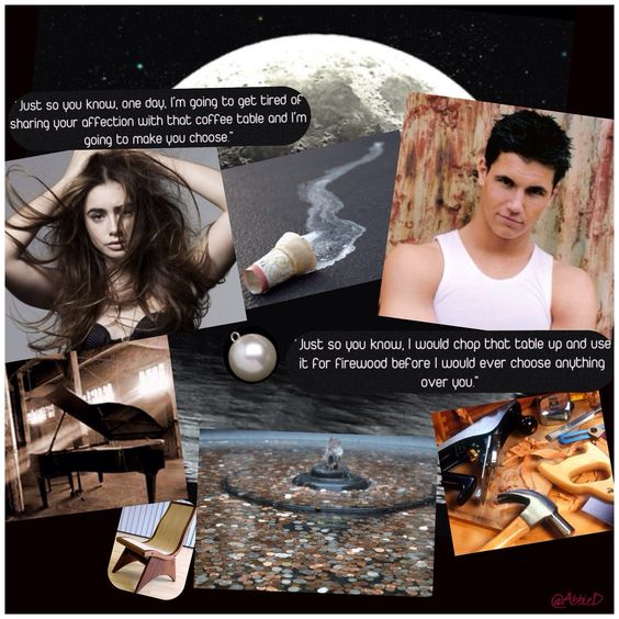 My collage for this AMAZING book! Thanks for the add Trinity!