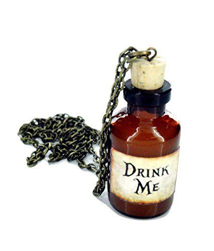 Alice im Wunderland Trink mich Flasche Halskette brandneue In Geschenkbox - http://schmuckhaus.online/fallen-saint/alice-im-wunderland-trink-mich-flasche-halskette