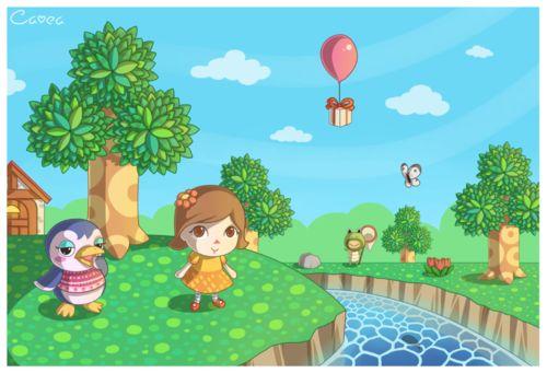 Cute fan art from Animal Crossing