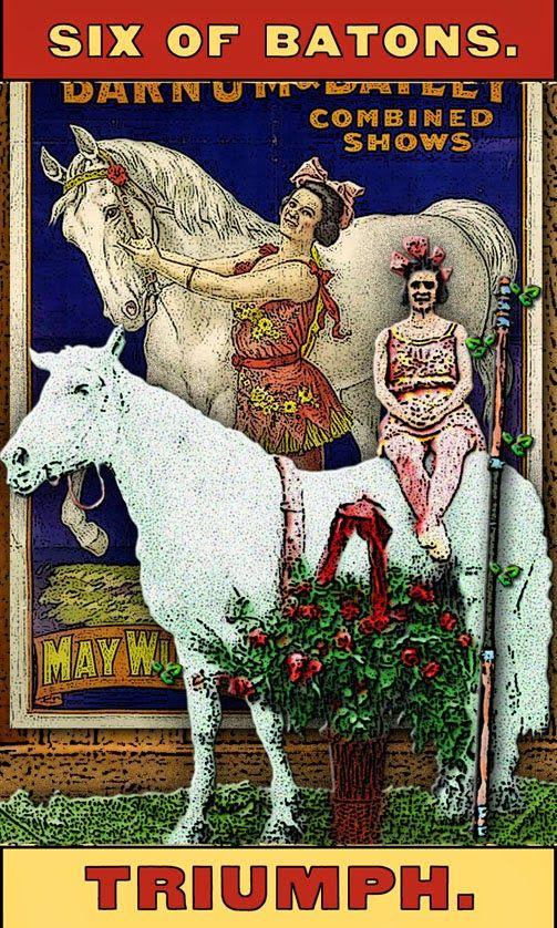 Tarot of the Zirkus Mägi: The Six of Wands