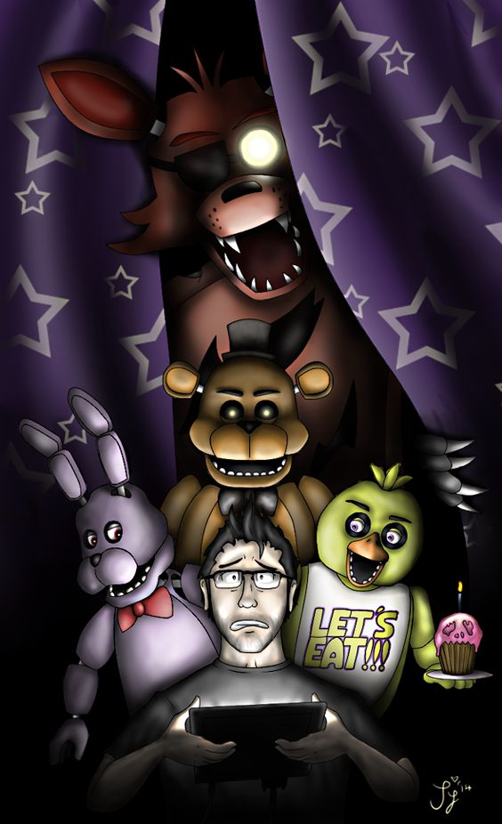 Five Nights at Freddy's - Markiplier by InvaderSaph ... Markiplier Fnaf
