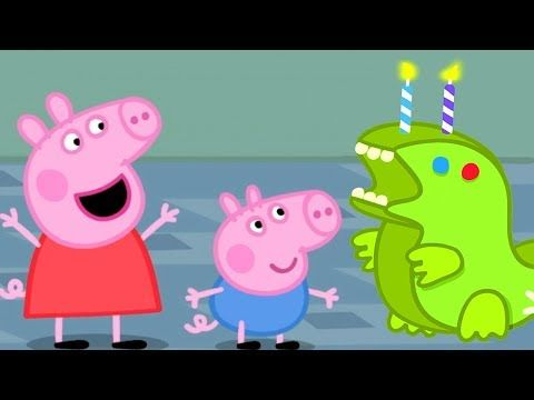 Peppa Pig English Episodes Peppa Pig Celebrates George Pig S