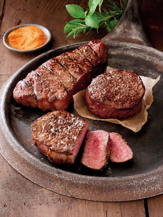 Can't get enough of your favorite USDA prime and choice steaks and chops? Order a collection and get enough to last you for weeks on end!