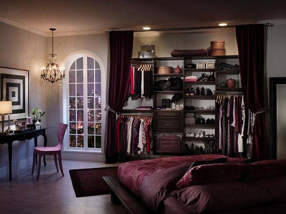 decoracion vestidor pequeño