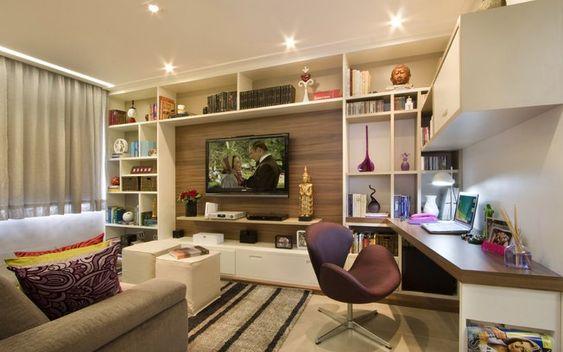 Apartamentos pequenos cheios de espaço - Decoração - iG