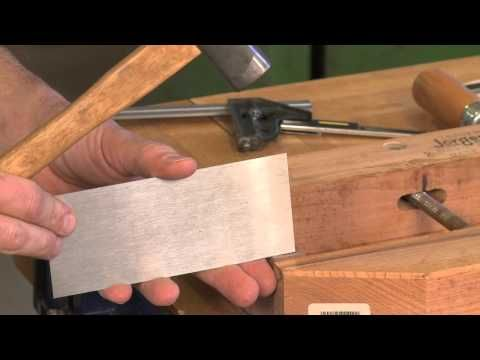Tips for Cutting Half Blind Dovetails Part 1, with Tim Rousseau - YouTube
