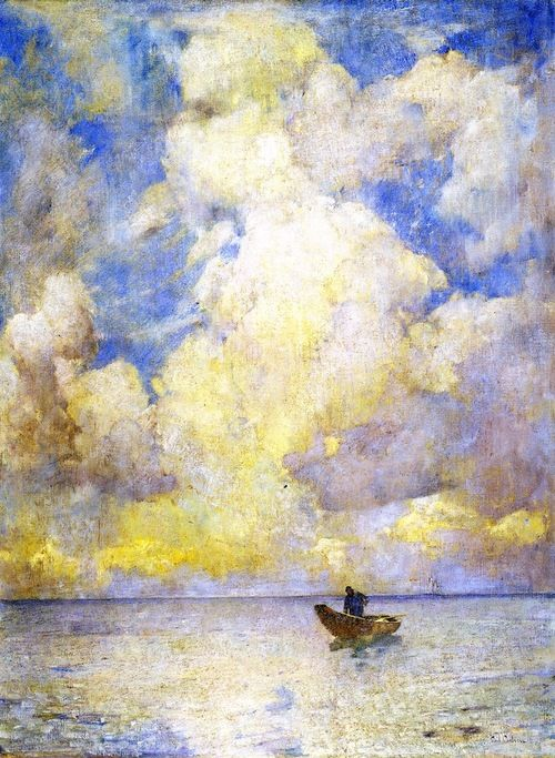 Emil Carlsen  [Danish-born American Painter, 1853-1932]  Summer Light, circa 1915  oil on canvas  Wadsworth Athaneum (United States)