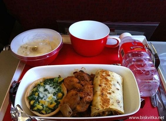 Airline Food » Biskvitka.net
