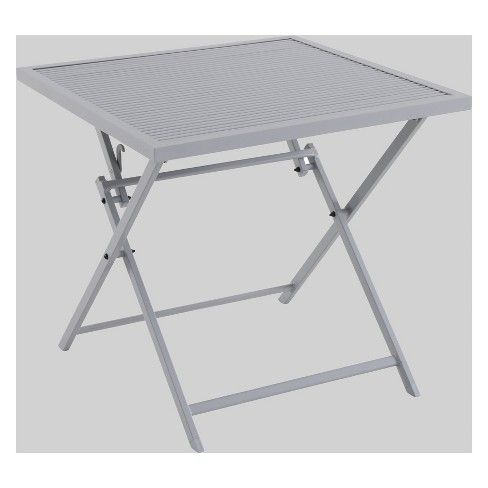 square folding table target online
