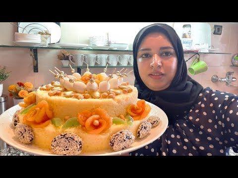 سفة بريستيج مع طريقة تزيين وريدات بالمشماش كفما طلبتو مني Youtube Food Breakfast Acai Bowl