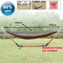 275cm 100kg Portable Single Cloth Hammock - Single Hammock - Safe And Comfortable