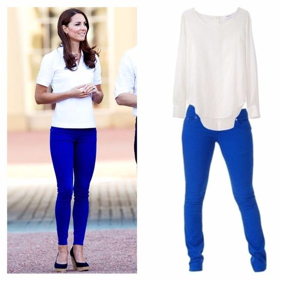 Cobalt royal blue leggings | Beauty, Royal blue and Levis