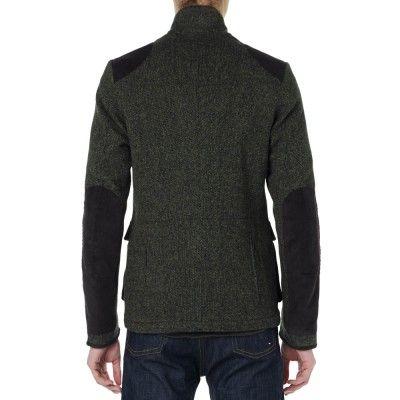 Barbour Dept. (B) Beacon Sports Tweed Jacket (Green) | Barbour