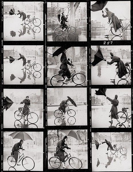 Contact sheet by Tom Palumbo, Vogue and Harper's Bazaar photographer.