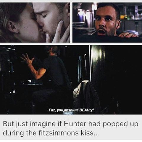 Imagine  #FitzSimmons #AgentsofSHIELD #AoS #LanceHunter #FitzSimmonskiss
