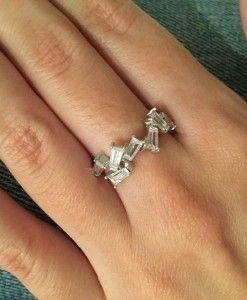 anel prata 925 zirconias baguetadas joias