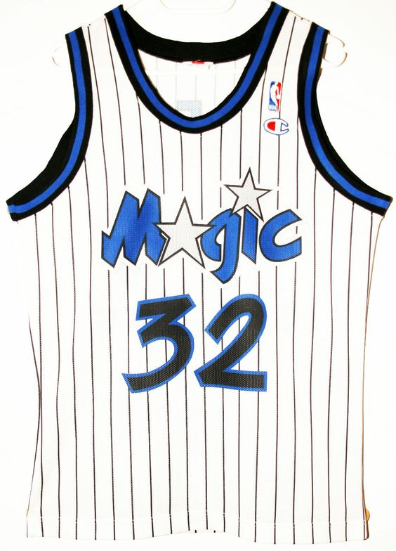 Champion NBA Basketball Orlando Magic #32 Shaquille O'Neal Trikot / Jersey Size S - 47,90€ #nba #basketball #trikot #jersey #ebay #sport #fitness #fanartikel #merchandise #usa #america #fashion #mode #collectable #memorabilia #allbigeverything