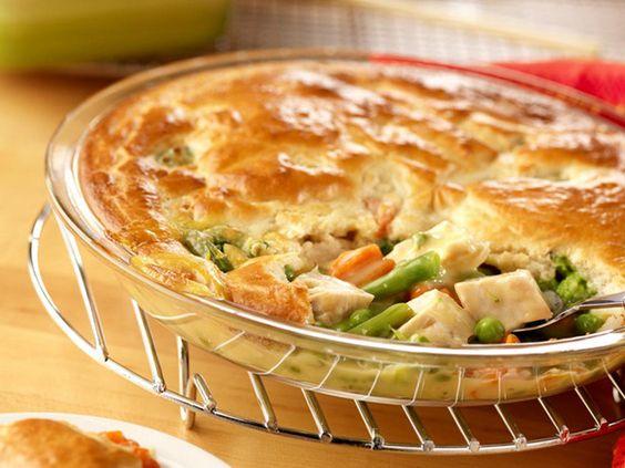 Easy chicken pie recipes for dinner
