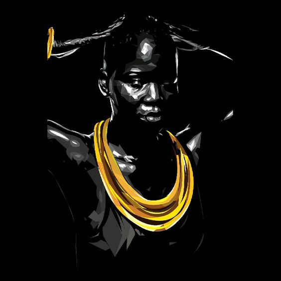 The more knowledgeable the #African #woman becomes about herself and her history, the more #attractive her personality becomes. #wcw. #blackandgold #royalty. #beinspired  #beezi
