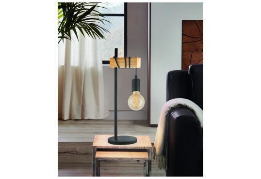 Townshend Bordlampe Natur Lampebord Stue Design
