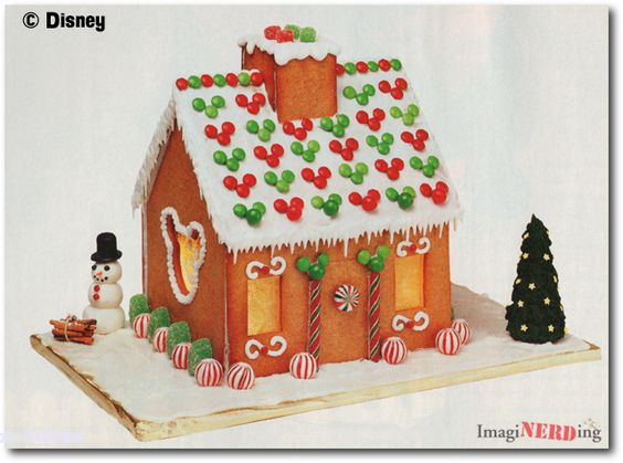 Gingerbread Houses Gingerbread And Mickey Mouse On Pinterest