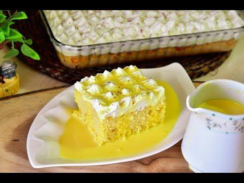 كيكة زعفران بطريقه سهله وكتير طيبه تابعوها من اطيب الوصفات Youtube Breakfast Recipes Easy Arabic Dessert Cookie Recipes