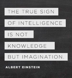 einstein imagination and knowledge on pinterest