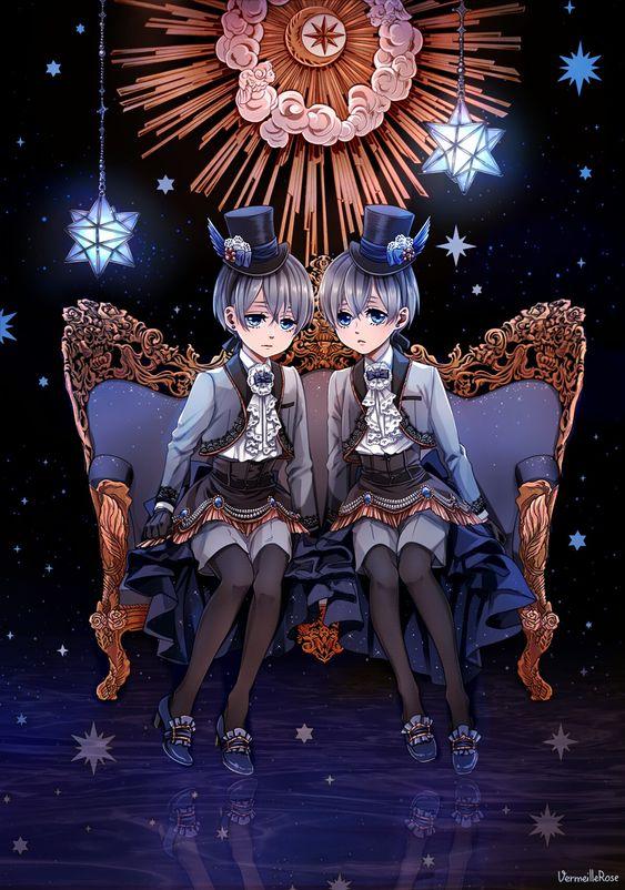 双子の黒執事の壁紙