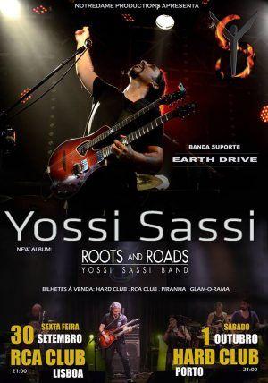 Yossis Sassi e Earth Drive - RCA Club, Lisboa, 30/09/16