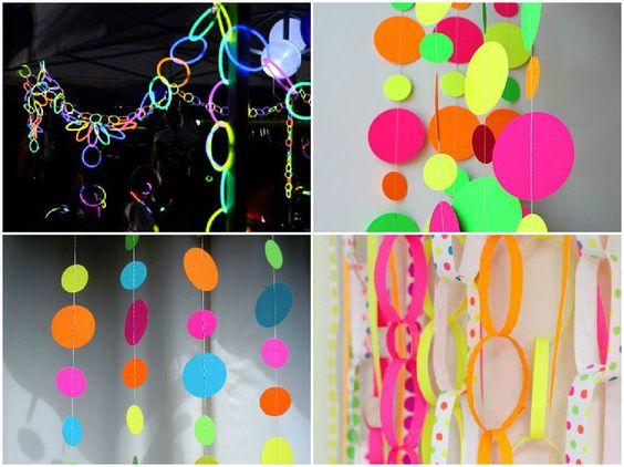 decoracao festa neon:1000 ideias sobre Festa Neon no Pinterest