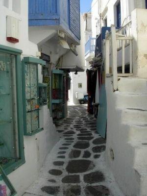 Ruelas de Mykonos ... Awesome!  por catrulz