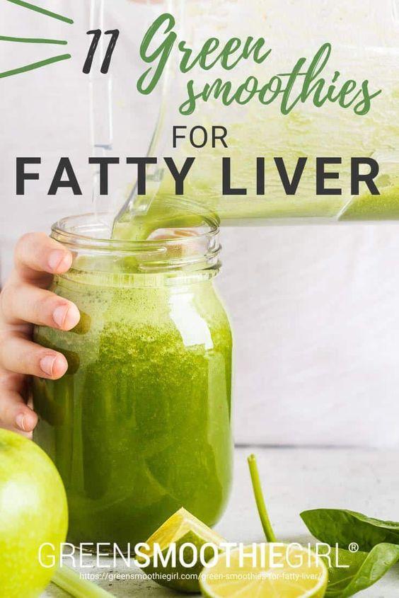 11 Green Smoothie Recipes for Fatty Liver | GreenSmoothieGirl