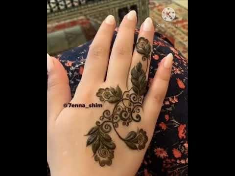 Henna نقش حناء بسيط وخفيف Youtube Hand Henna Henna Hand Tattoo Henna