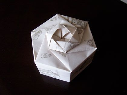 Hexagons, Tutorials and Origami