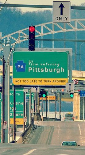 #Pittsburgh has a great sense of humor!
