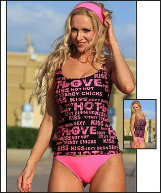 The HOTTIE TALK Shelf Bra Tankini | tankinisswim.org | swim wear ...