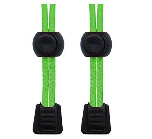 Packung elastische Schnürsenkel mit Schnellverschluss, für Laufen/Triathlon neon green - http://on-line-kaufen.de/neo-15/neon-green-packung-elastische-schnuersenkel-mit