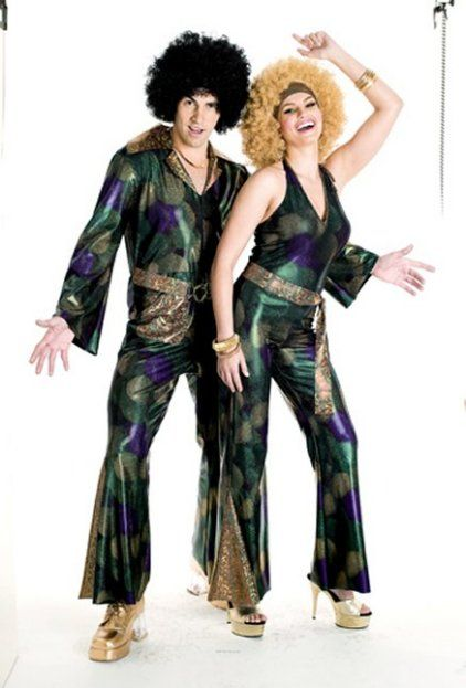 70's Disco Couples Costumes - The Best 50's, 60's, 70's ...