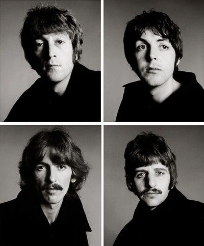 AVEDON John Lennon, Paul McCartney, George Harrison, Ringo Starr