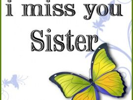 My sister quotes, I miss you and Miss my sister on Pinterest