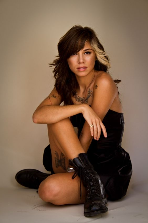 ... hair style hair cut boots with dresses combat boots hair ideas colors