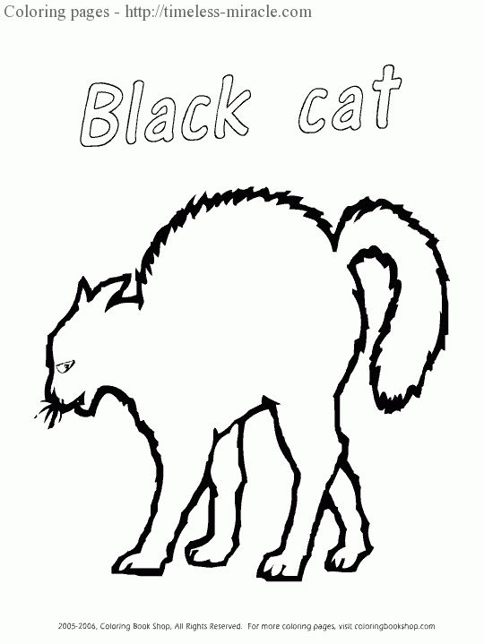30 Coloring Pages Black Cat Halloween Coloring Pages Cat Coloring Book Cat Coloring Page