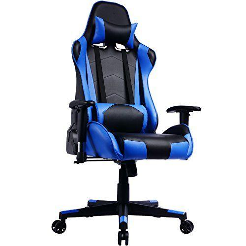 Prisp Fauteuil Gamer A Dossier Inclinable Chaise De Bureau Gaming Siege Sport Racing Chaise Bureau Bureau Gaming Chaise